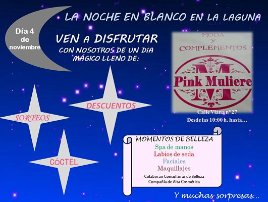 Pink Muliere boutique y complementos Tenerife